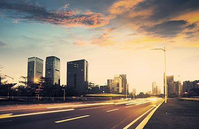 Image of a city skyline.